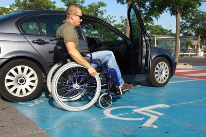 Handicap et la voiture