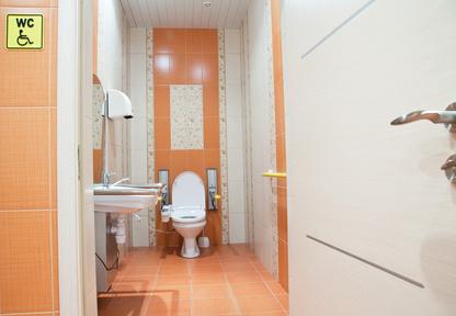 Toilettes spécialement conçues pour une personne handicapée