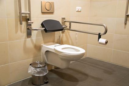 Toilettes pour les personnes handicapées