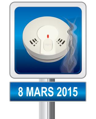Détecteur de fumée obligatoire en mars 2015