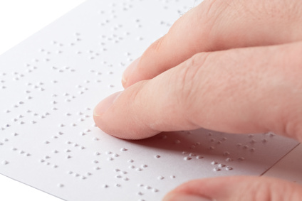 Lecture en braille