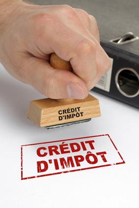 Tampon crédit d'impôt