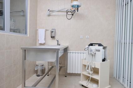 À l'intérieur d'une salle de soins